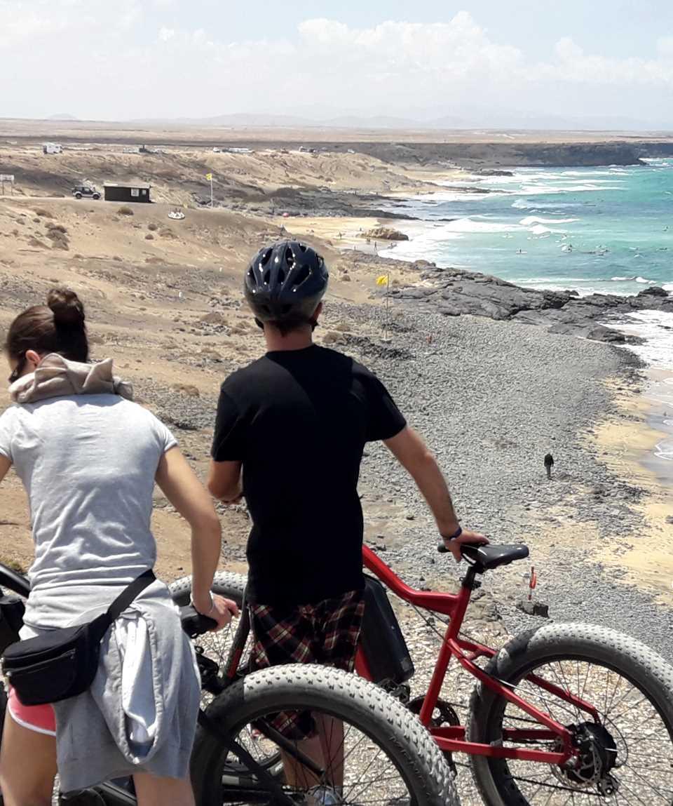 E-Bike Tour Corralejo Fuerteventura 5 Hours