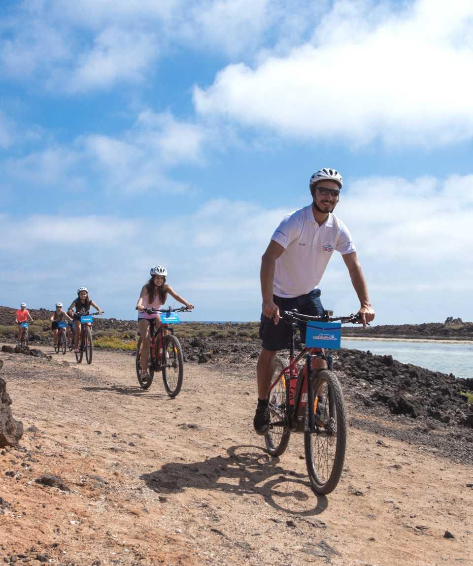 Boat & E-Bike Isla de Lobos Fuerteventura
