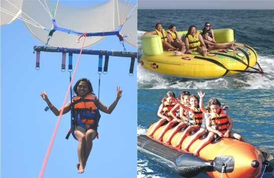 Water Sports Package Banana Boat Morro Jable Fuerteventura