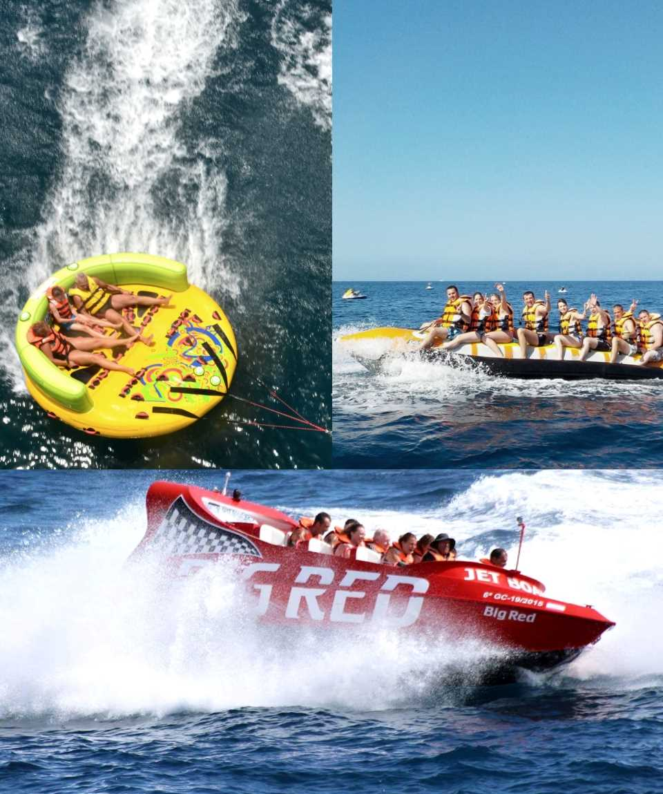 Water Sports Package Jet Boat Morro Jable Fuerteventura