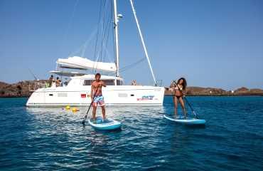 Catamaran Isla de Lobos