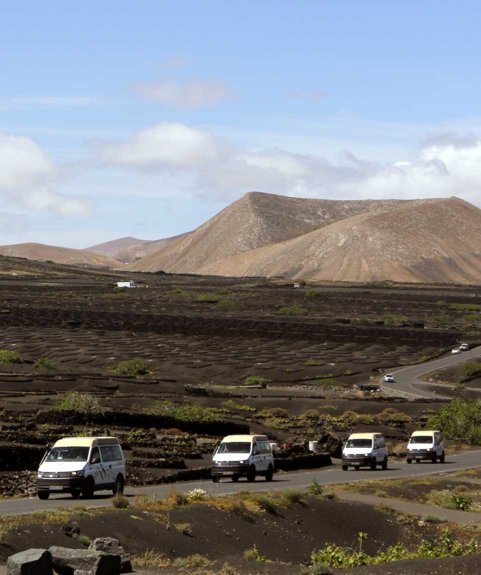 Minibus Tour from Fuerteventura to Lanzarote