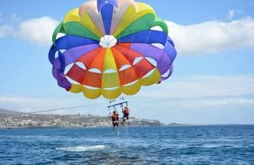 Parasailing in Morro Jable