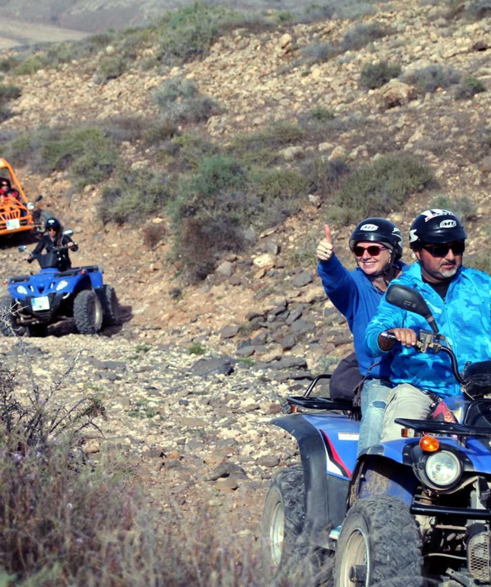 Quad Bike Tour Caleta de Fuste Fuerteventura