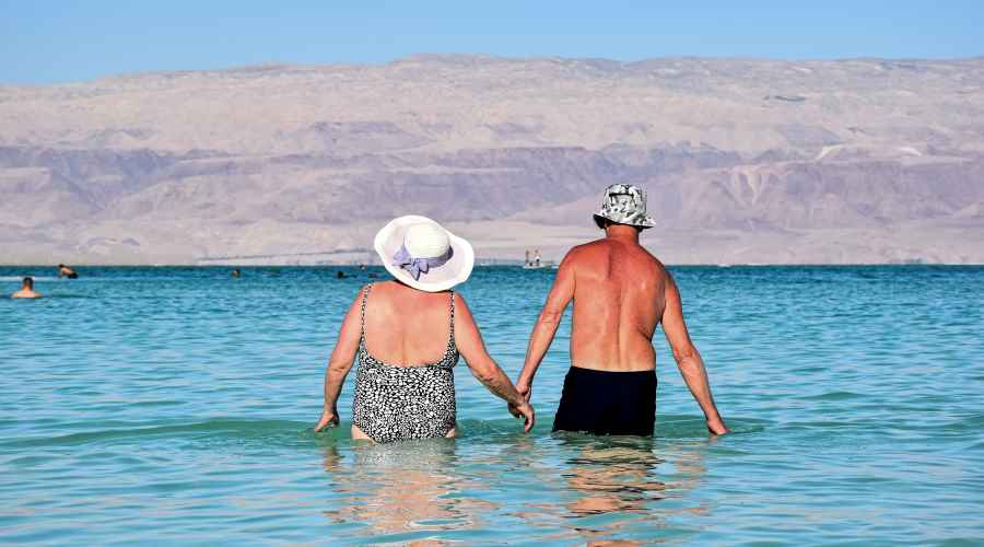 Pensioners in Fuerteventura